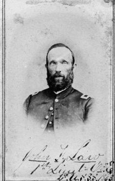 Lt. John F. Law, 2nd U.S. Sharpshooters.