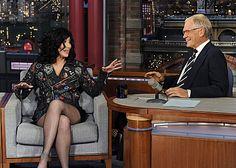 Cher on David Letterman.