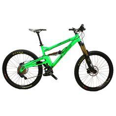 EX Demo Orange Alpine 160 RS 2014 Medium Neon Green | Stif Cycles