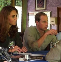 Catherine Duchess of Cambridge and Prince William in Borneo Photo (C) GETTY IMAGES