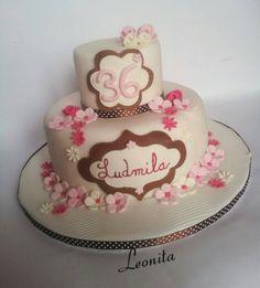 torta fiori delicati