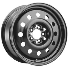 Pacer Black Modular 16 Black Wheel / Rim 5x4.25 & 5x4.5 with a 42mm Offset and a 72 Hub Bore. Partnumber 83B-66514   $ 97.09 #TireWheelCare     	  	 	     $ 97.09