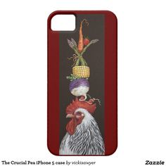 The Crucial Pea iPhone 5 case