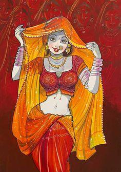 Cartoon Girl Drawing, Girl Cartoon, Alita Battle Angel Manga, Kali Goddess, Female Drawing, Art Painting Gallery, Beautiful Girl Image, Beautiful Roses, Hindu Art