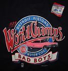 For Sale - VINTAGE  Detroit Pistons Bad Boys 1989 Champions Tee Shirt XL -NEW WITH TAG - http://sprtz.us/PistonsEBay
