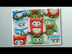 Flour Box Bakery — Day 6 of Cookie Videos: How to Decorate a Holiday Owl