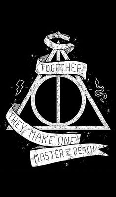 Deathly Hallows Harry Potter ♥ cell phone background                                                                                                                                                                                 Plus