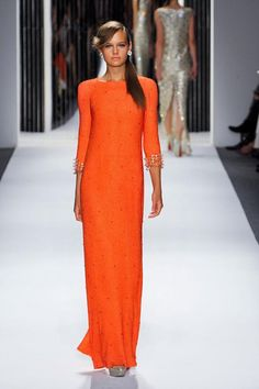 orange clothing colour trend