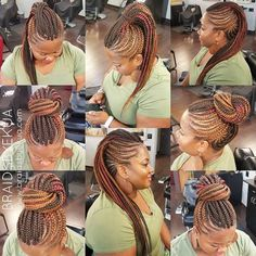 I named it the Versatile Faux Hawk because with this style you have options.so many options. 💯 I always enjoy doing this style and of… Braided Mohawk Black Hair, Mohawk Braid, Black Girl Braids, Braids For Black Hair, Cornrow Ponytail, Natural Hair Braids, Natural Hair Tips, Natural Hair Styles, Mohawk Styles