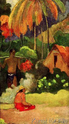 Paul Gauguin - Mahana maa II