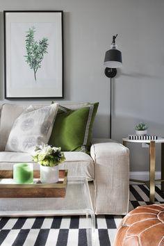 Elements of Style Blog | My Lowe's Basement Renovation Reveal! | http://www.elementsofstyleblog.com