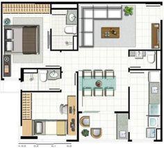 Foto 1, Apartamento, ID-42354231