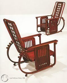 Josef Hoffmann Chairs, 1908