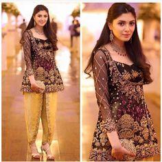 Latest Trends Of Tulip Pants In Pakistan 2019 Beautiful Pakistani Dresses, Pakistani Formal Dresses, Pakistani Wedding Outfits, Pakistani Dress Design, Indian Dresses, Indian Outfits, Beautiful Dresses, Dress Formal, Formal Wear