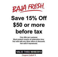 photo regarding Baja Fresh Coupons Printable titled Guides Really worth Looking through
