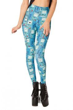 60569ed1fb NADANBAO Women Legging 8 Pattern American Cartoon Adventure Time Cute  Knitted Women Digital Print Long Leggings