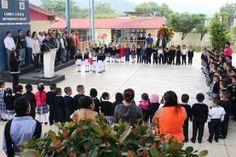 Jalpan de Serra, Qro., a 14 de noviembre del 2016. Esta mañana en el preescolar Francisco Palou del Barrio el...