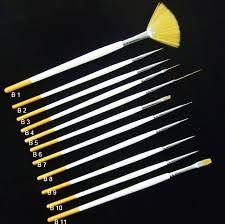 nail polish brushes
