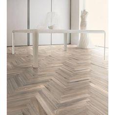 Heartwood Beige Wood Plank Porcelain Tile - 3 x 18 - 100434513 Herringbone Tile Floors, Wood Tile Floors, Wood Planks, Wood Look Tile Floor, White Vinyl Flooring, Vinyl Flooring Kitchen, Kitchen Vinyl, Kitchen Reno, Tile Looks Like Wood