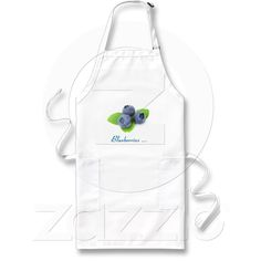 Blueberry Apron from Zazzle.com