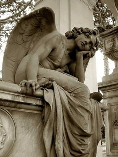 Staglieno Cemetery, Genoa - Funny how some of the most beautiful sculptures are found in cemeteries.