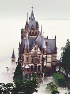 Dragon Castle (Drachenburg, Germany) by Kilian Schönberger on 500px