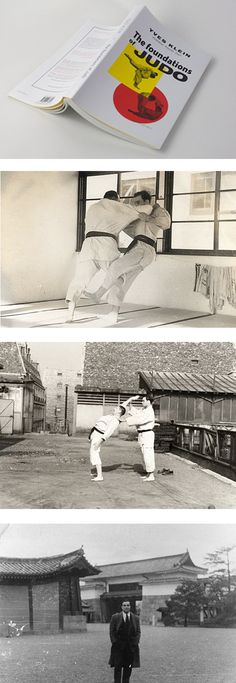 yves klein's first love was judo, not art. at 24 years old he left paris for japan to pursue judo and became one of the first europeans to receive a fourth-dan black belt.
