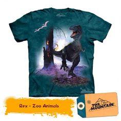 Unisex Clothing The Mountain Rex Dinosaur Tyrannosaurus Youth Child Kids Tee T Shirt S-Xl Baby Backpack, Oeko Tex 100, Tyrannosaurus, T Rex, School Bags, Kids Shirts, Cool Kids, Children, T Shirt