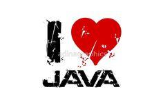 'I Love Java' Laptop Skin by adinagraphics Canvas Prints, Framed Prints, Art Prints, Laptop Skin, Java, Walking Dead, Ipad Case, Laptop Sleeves, Duvet Covers