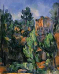 Bibemus Quarry - Paul Cezanne  #cezanne #paintings #art