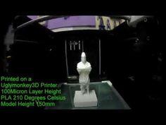 Another Job Printed on a Uglymonkey 3D Printer
