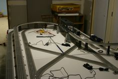 Lionel fastrack layouts model railroads lionel o gauge fastrack