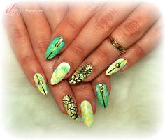 Nail art My Nails, Nail Art, Jewelry, Jewlery, Jewerly, Schmuck, Nail Arts, Jewels, Jewelery