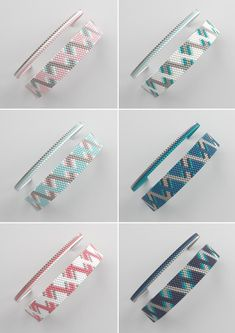peyote bracelet pattern peyote pattern odd count s Loom Bracelet Patterns, Bead Loom Bracelets, Bracelet Crafts, Bead Loom Patterns, Peyote Patterns, Beading Patterns, Stitch Patterns, Seed Bead Jewelry, Bead Jewellery