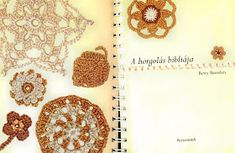 Horgolásról csak magyarul.: BETTY BARNDEN A HORGOLÁS BIBLIÁJA (LETÖLTHETŐ AZ EGÉSZ KÖNYV) Crochet Earrings, Wallpaper, Stitches, Google, Bible, Amigurumi, Dots, Sewing Stitches, Wallpapers