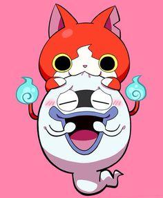 OMG Yo Kai Watch 2, Anime Manga, Anime Art, Western Anime, Hokusai, Gamers Anime, Anime Animals, Anime Shows, Geek Culture