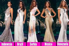 Miss Universe 2014 Top 5 Favourites by Angelopedia! | Angelopedia