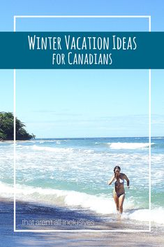 Looking for a great winter vacation that isn't an all-inclusive resort? Whether you want adventure, relaxation, culture, or great food there are tons of options for a one week vacation from Canada. Ways To Travel, Travel Advice, Travel Hacks, Visit Canada, Adventure Activities, Beaches In The World, All Inclusive Resorts, Future Travel, Canada Travel