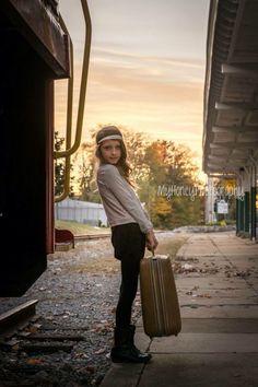 Travel little girl photography model