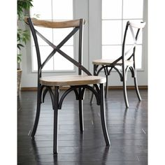 Have to have it. Walker Edison Urban Dining Chairs - Set of 2 - $269 @hayneedle