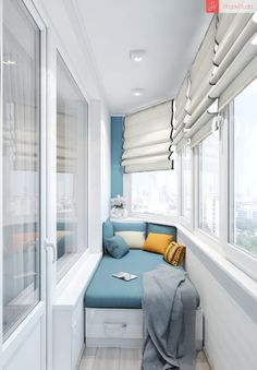 60 Best Window Seat Design Ideas - ann deguefe - Fitness and Gym Small Apartments, Small Spaces, Small Balcony Decor, Balcony Ideas, Small Balcony Design, Balkon Design, Apartment Balcony Decorating, Apartment Balconies, Apartment Ideas