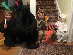 Ellison, Derrick, Caden, Hollyn Luther Halloween,  Oct. 2015