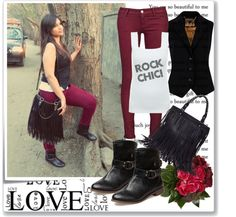 """Rock Chic on Valentine's Day"" by ritcha on Polyvore"