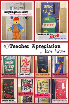 door decorating ideas for teacher appreciation week
