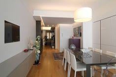 APPARTAMENTO A PALERMO - 2013 : Sala da pranzo moderna di Giuseppe Rappa & Angelo M. Castiglione __________________________________ architetti