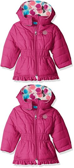 43858e3a4 DORAMI Baby Girls Winter Autumn Cotton Warm Cotton Jacket Coat (2T ...