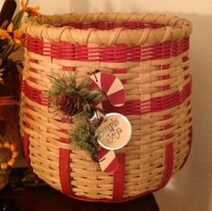 This basket was made by my friend Sharon, I won it at a PCBM meeting.