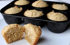 The Healthy Happy Wife: Coconut Almond Muffins (Dairy, Gluten and Refined ...