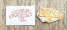 Curious owl stamp, hand carved owl stamp, inquisitive owl rubber stamp, bird stamp, handmade owl rubber stamp, hand carved stamp