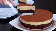 Túto tortu s kávovou penou musíš vyskúšať. Gluten Free Baking, Sin Gluten, Vanilla Cake, Sweet Recipes, Nom Nom, Mousse, Cheesecake, Brunch, Dessert Recipes